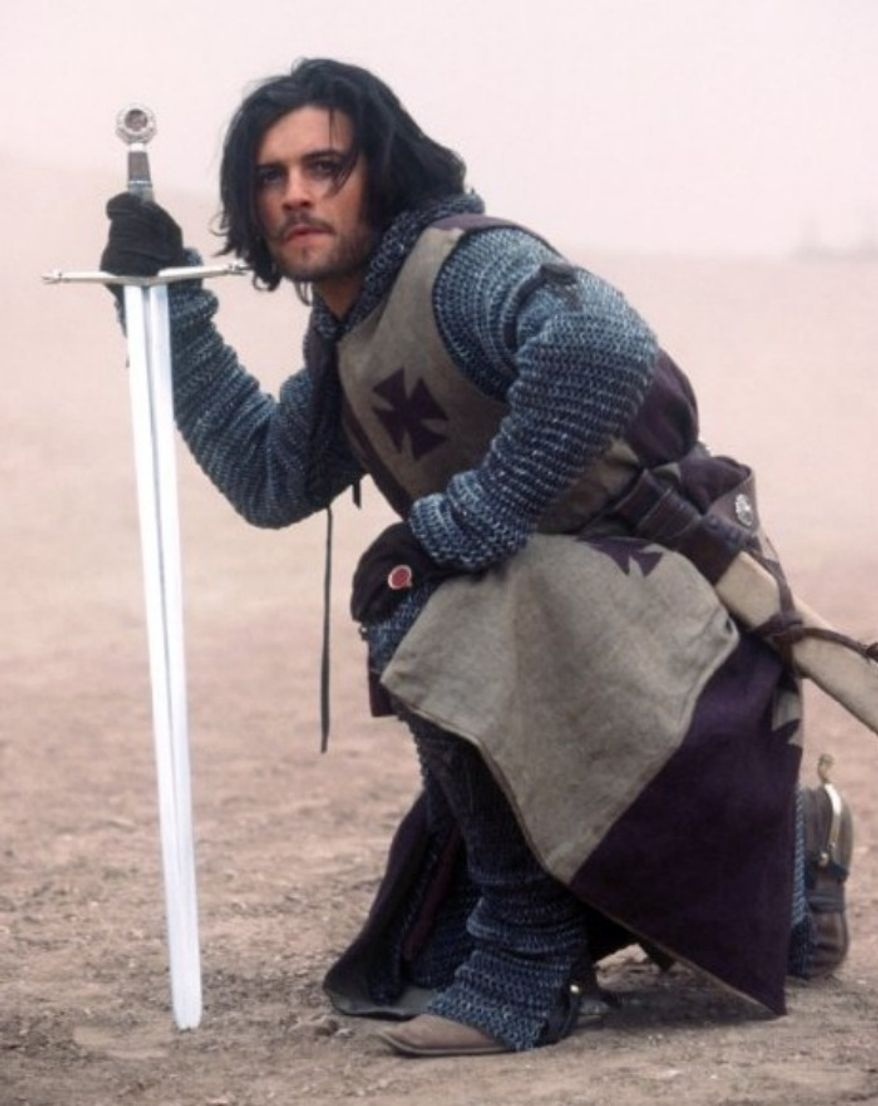 Orlando Bloom starred in Kingdom of Heaven, 2005. Image: 20th Century Fox