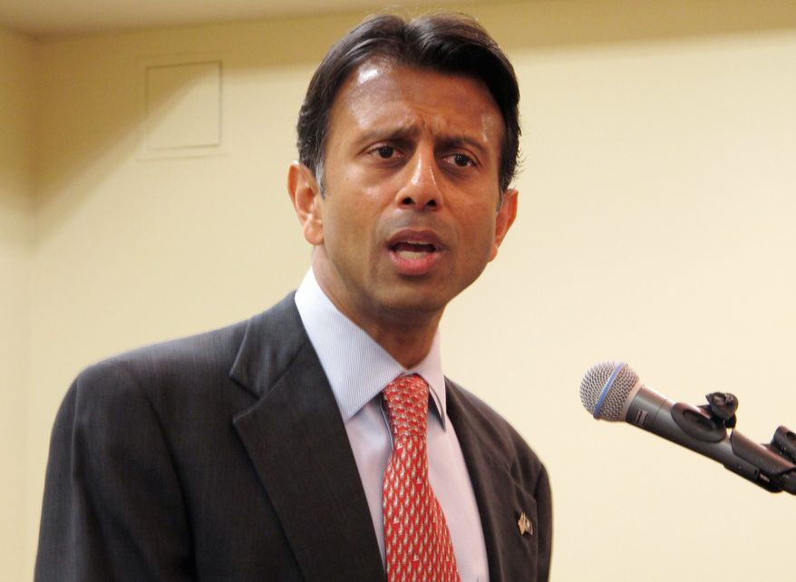 """The Canadians are going to go get this oil. The question is whether they send it to us or to the Chinese. I'd rather it come here to America,"" said Louisiana Gov. Bobby Jindal. (ASSOCIATED PRESS)"