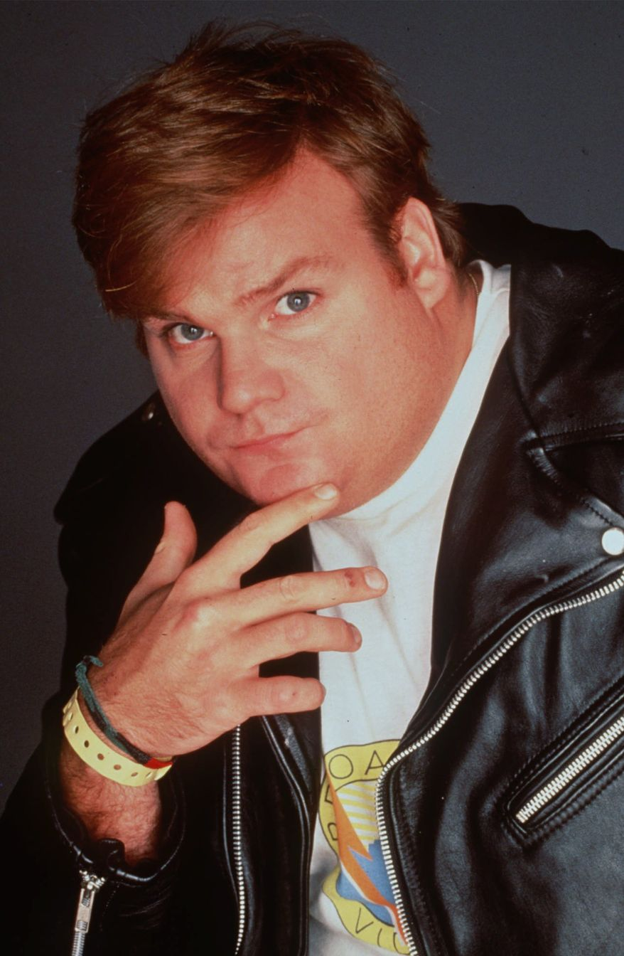 Actor Chris Farley, who spent four seasons on TV's ``Saturday Night Live'' and starred in several movies, is shown in this undated photo.  Farley, 33, was found dead in his Chicago apartment Thursday, Dec. 18, 1997. The cause of death was not immediately known. (AP Photo/HO, NBC)