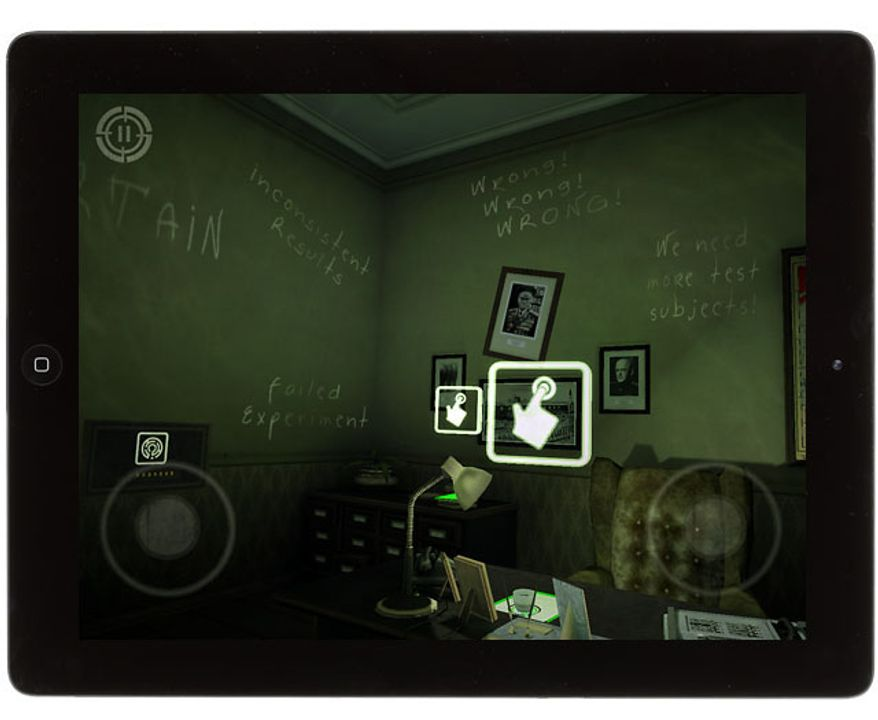 Look for clues with help from a retrospective mode in the iPad game In Fear I Trust.