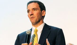 Democrat Andrew Romanoff has raised more than his Republican rival, three-term incumbent Rep. Mike Coffman, in Colorado. (ASSOCIATED PRESS)