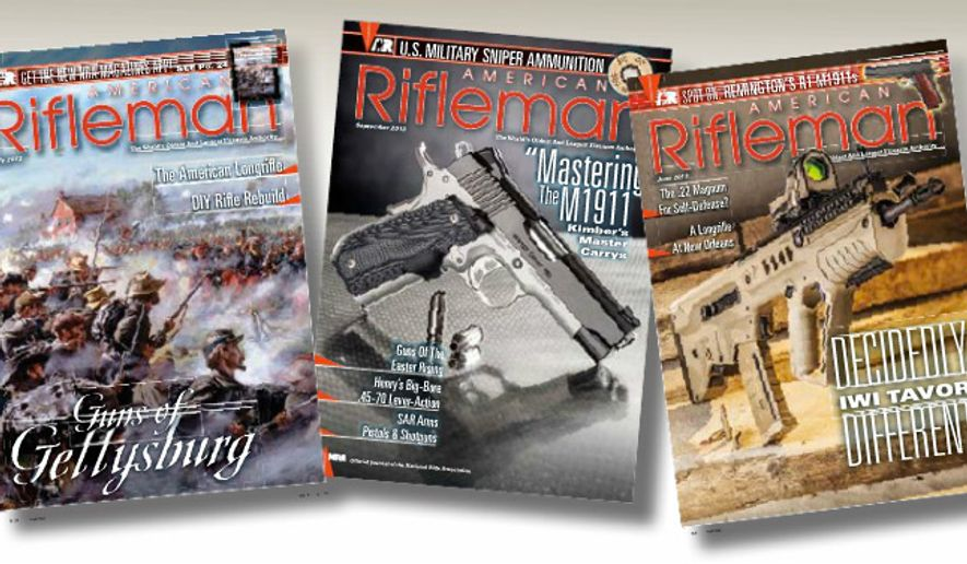 """American Rifle"" magazine published by the NRA"