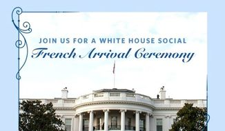 A state visit equals PR opportunity. The White House ran an online lottery for social-media fans who wanted to be in the throng to greet French President Francois Hollande when he arrives this week. (White House)