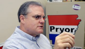 ** FILE ** Sen. Mark Pryor, Arkansas Democrat. (Associated Press)