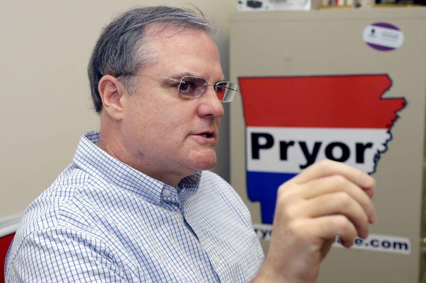 ** FILE ** Sen. Mark Pryor, Arkansas Democrat. (Associated Press)