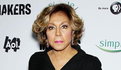 """** FILE ** This Feb. 6, 2013, file photo released by Starpix shows actress Diahann Carroll at the premiere of """"Women Who Make America"""" at Alice Tully Hall at Lincoln Center in New York. Carroll has pulled out of the upcoming Broadway revival of """"A Raisin in the Sun"""" and been replaced by LaTanya Richardson Jackson. (AP Photo/Starpix, Marion Curtis, File)"""