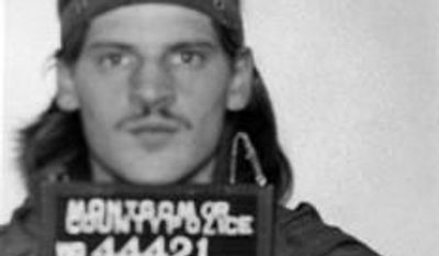 This handout image provided by the Montgomery County, Md., Police Department shows the Montgomery County Police mugshot of Lloyd Welch in 1977 after Welch was arrested for a residential burglary near Wheaton Plaza. Police in Maryland say Welch, a convicted sex offender currently imprisoned in Delaware, has emerged as a person of interest in the disappearance of the two young sisters, Sheila Lyon and Katherine Lyon in Maryland in 1975. (AP Photo/Montgomery County, Md., Police Department)