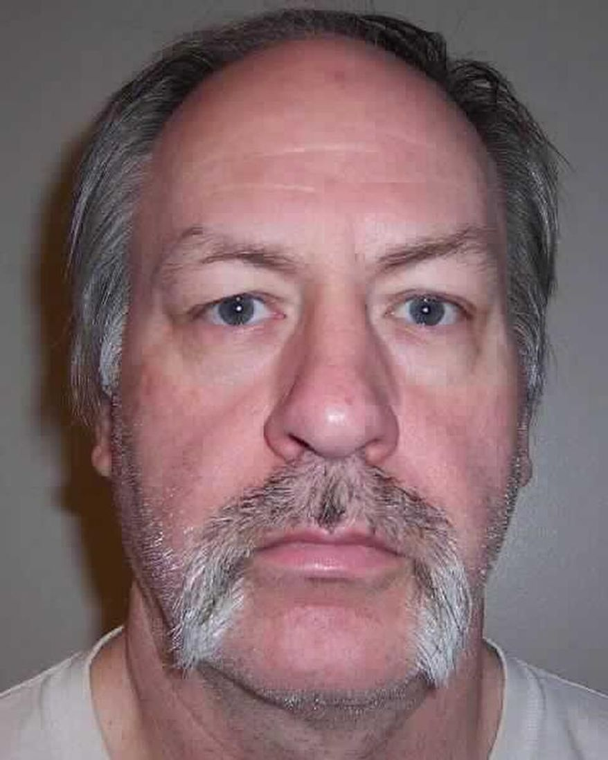 This undated photo provided by the Washington Dept. of Corrections shows Robert Yates, one of nine inmates currently on death row in Washington state. Yates was convicted in 2002 for the murders of two women. Gov. Jay Inslee on Tuesday, Feb. 11, 2014 announced that he was suspending the use of the death penalty in Washington state for as long as he's in office. Under Inslee's system, death row inmates will remain in prison rather than face execution. (AP Photo/Washington Dept. of Corrections)