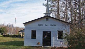 The White Tail Chapel in Ivor, Va. (whitetailresort.org)