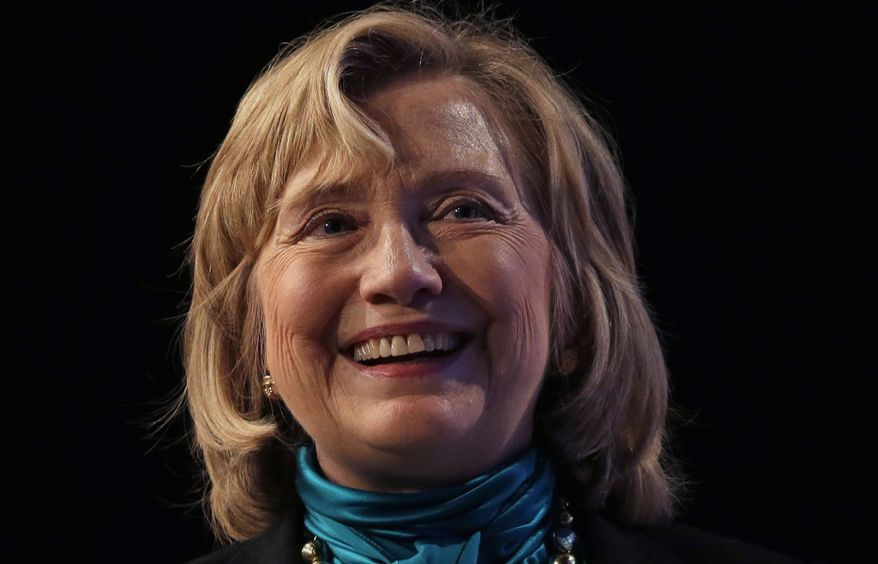 While former Secretary of State Hillary Rodham Clinton has all but vanished, the press corps is working overtime to rebuild her tarnished reputation. (ASSOCIATED PRESS)