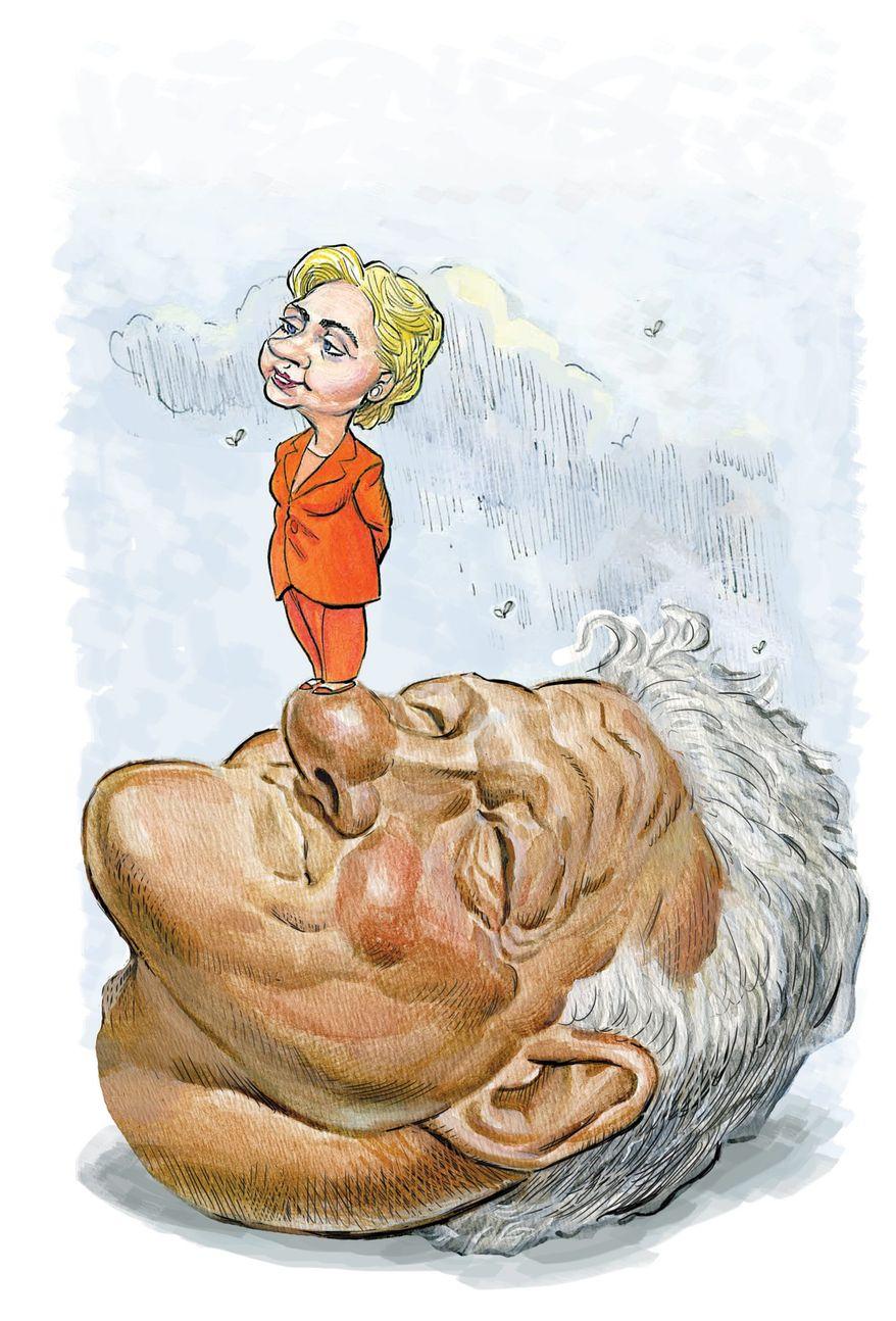 Illustration by Alexander Hunter/The Washington Times