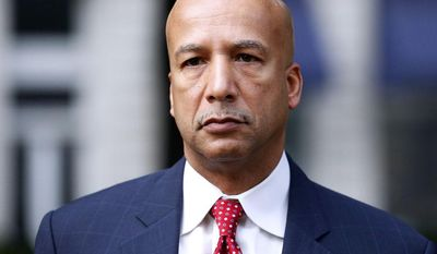 ** FILE ** In this Jan. 27, 2014, file photo, former New Orleans Mayor Ray Nagin arrives at the Hale Boggs Federal Building in New Orleans. (AP Photo/Jonathan Bachman, File)