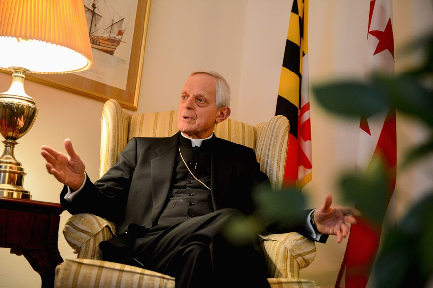 "Cardinal Donald W. Wuerl says the Catholic Church, under Pope Francis, is focusing on how to ""Live the Gospel,"" especially in a world of extreme inequality. (Andrew Harnik/The Washington Times)"