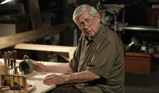 "This photo released by CBS shows Ralph Waite, as Jackson Gibbs, in an episode ""The Namesake"" from ""NCIS,"" on Tuesdays, 8/7 CT on the CBS Television Network . Waite, 85, who played the father in TV's hit series ""The Waltons,"" has died. Waite's manager, Alan Mills, says the actor died midday Thursday, Feb. 13, 2014, in the Palm Springs area. (AP Photo/CBS, Cliff Lipson)"