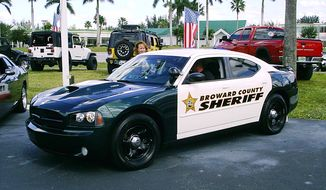 **FILE** A Broward County (Fla.) Sheriff's Department vehicle is seen here in 2010. (Christopher Ziemnowicz)