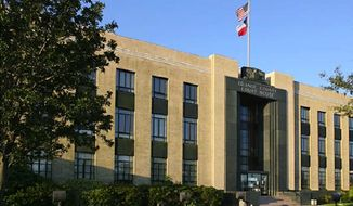 The Orange County Courthouse in Orange, Texas (co.orange.tx.us)