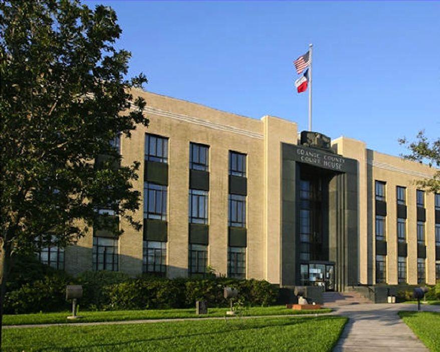 The Orange County Courthouse in Orange, Texas (co.orange.tx.us)