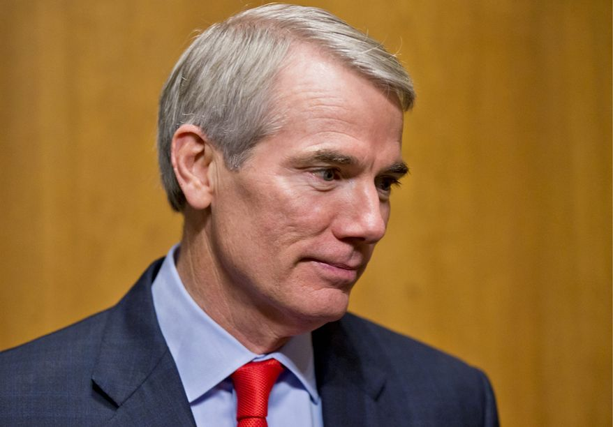 **FILE** Sen. Rob Portman, Ohio Republican (Associated Press)