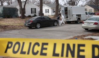 "Springfield police and the FBI continue to process the scene in Springfield, Mo.,  after  Craig Michael Wood was arrested at this location on Wednesday, Feb. 19, 2014.  Wood has been jailed on suspicion of first-degree murder in the abduction and death of Owens, police said Wednesday. A body believed to be that of Hailey Owens was found Wednesday at the home owned by Wood, Police Chief Paul Williams said at a news conference. Official confirmation won't occur until after an autopsy, but the chief said police ""have a high degree of confidence"" in the preliminary identification. Police say Wood, 45, is jailed on suspicion of first-degree murder but formal charges have not been filed. The Greene County prosecutor is reviewing the case.  (AP Photo/The Springfield News-Leader, Dean Curtis) NO SALES"