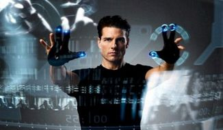 Tom Cruise stars in 2002's 'Minority Report.' (Image: Twentieth Century Fox)