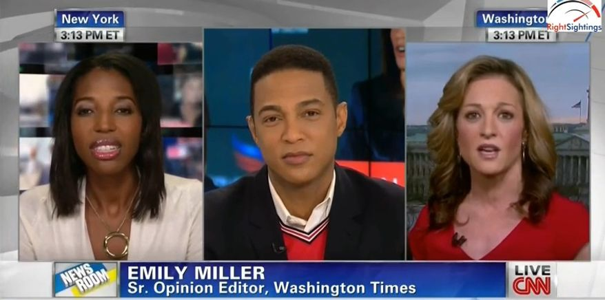 Emily Miller on CNN with Don Lemon. Feb. 21, 2014.