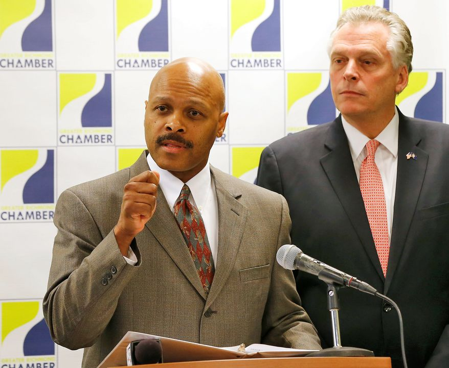 Before Maurice Jones was named by Virginia Gov.-elect Terry McAuliffe as secretary of commerce and trade, he was suspected of improper lobbying. (Richmond) Times Dispatch Via Associated Press