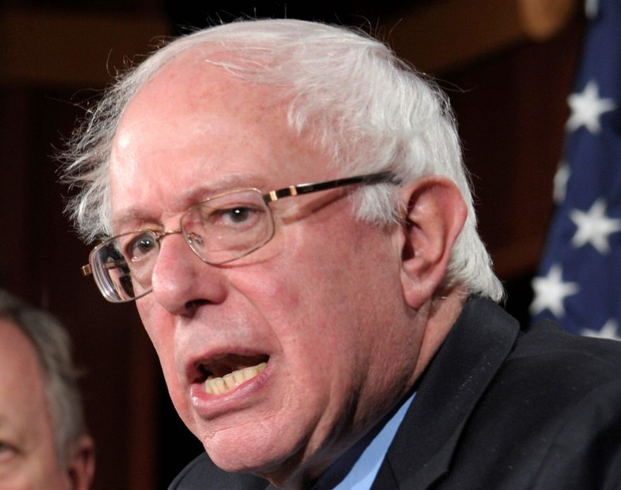Veterans' Affairs Committee Chairman Bernard Sanders says the Senate still has a long way to go before it passes a policy bill.
