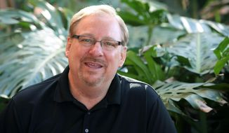 rick warren son death letter in a letter to pope francis pastor rick warren of 24506