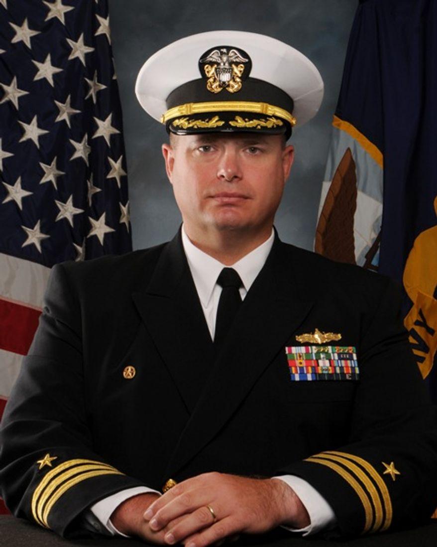Navy Cmdr. Dennis Volpe (U.S. Navy)