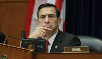 "Rep. Darrell Issa, California Republican, says the FDA's surveillance mirrored the book, ""1984."" (Associated Press)"