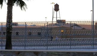 """The Federal Correctional Institution is shown early Thursday, Feb. 27, 2014 in Safford, Ariz. 50-year-old Fernando Gonzalez, known to U.S. authorities as """"Ruben Campa"""", a member of the """"Cuban Five"""" spy ring, was released from the facility early Thursday where he completed his sentence. (AP Photo/Matt York)"""