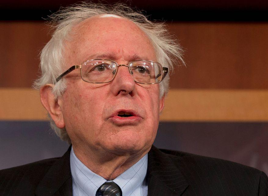 ** FILE ** Sen. Bernard Sanders, Vermont independent (AP Photo/Jacquelyn Martin, File)'