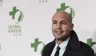 Actor Billy Zane arrives at the 11th Annual Global Green USA Oscar week party at Avalon Hollywood on Wednesday, Feb. 26, 2014, in Los Angeles. (Photo by Dan Steinberg/Invision/AP)