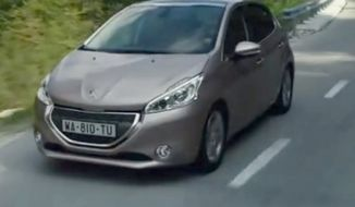 Peugeot 208. (Image: YouTube)