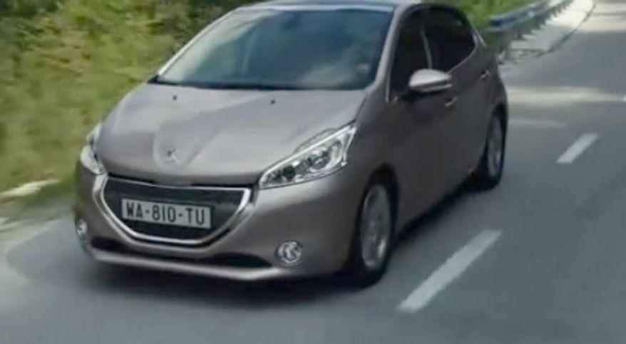 Peugeot 208. (Image: YouTube)