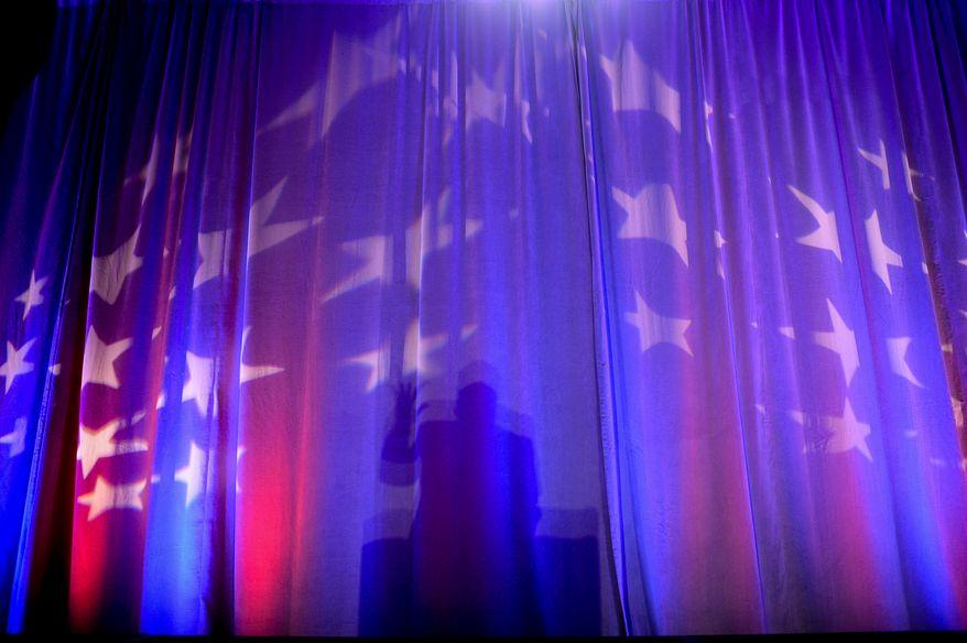 Rep. Louie Gohmert (R-Texas) speaks at the Tea Party Patriots 5th Anniversary Celebration at the Hyatt Regency Capitol Hill, Washington, D.C., Thursday, February 27, 2014. (Andrew Harnik/The Washington Times)