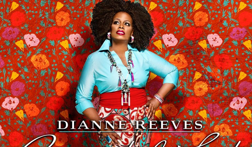 "This CD cover image released by Concord Music Group shows ""Beautiful Life,"" by Dianne Reeves. (AP Photo/Concord Music Group)"