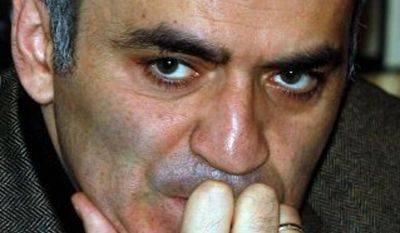 Associated Press Garry Kasparov, former chess champion and Russian opposition leader, was at the helm of a movement of people who refused to vote in Sunday's elections.