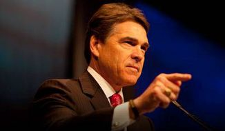 Texas Gov. Rick Perry is among 200 conservative luminaries headed for the podium at CPAC, which begins Thursday. (American Conservative Union)