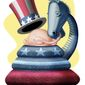 The whopper industry (Illustration by Alexander Hunter  for The Washington Times)