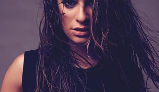 "This CD cover image released by Columbia Records shows ""Louder,"" the latest release by Lea Michele. (AP Photo/Columbia)"