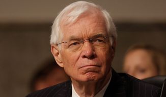 Sen. Thad Cochran (left) of Mississippi appears to be the only longtime Republican officeholder to face a tough challenge in his primary battle for re-election this year. State Sen. Chris McDaniel also has status among voters by having a high political post. (Associated Press)