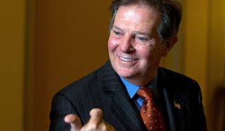 "Former House Majority Leader Tom DeLay, Texas Republican, says of his new weekly column and on-demand radio show for The Washington Times that he's ""very excited about having a platform for a dialogue with the American people."" (Associated Press)"