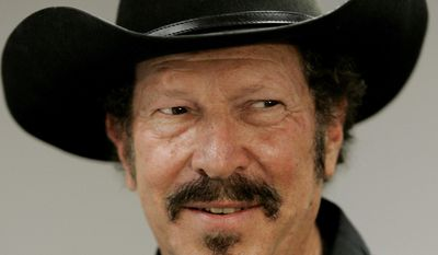 FILE - In this Nov. 7, 2009 file photo, Independent gubernatorial candidate Kinky Friedman talks with the media at his campaign headquarters in Austin, Texas. Texans get another opportunity to vote for a candidate named George Bush, and entertainer Friedman is running again by pledging to legalize marijuana, as one of the biggest turnovers in Lone Star state government history officially begins with primary elections, on Tuesday, March 4, 2014. (AP Photo/Eric Gay, File)