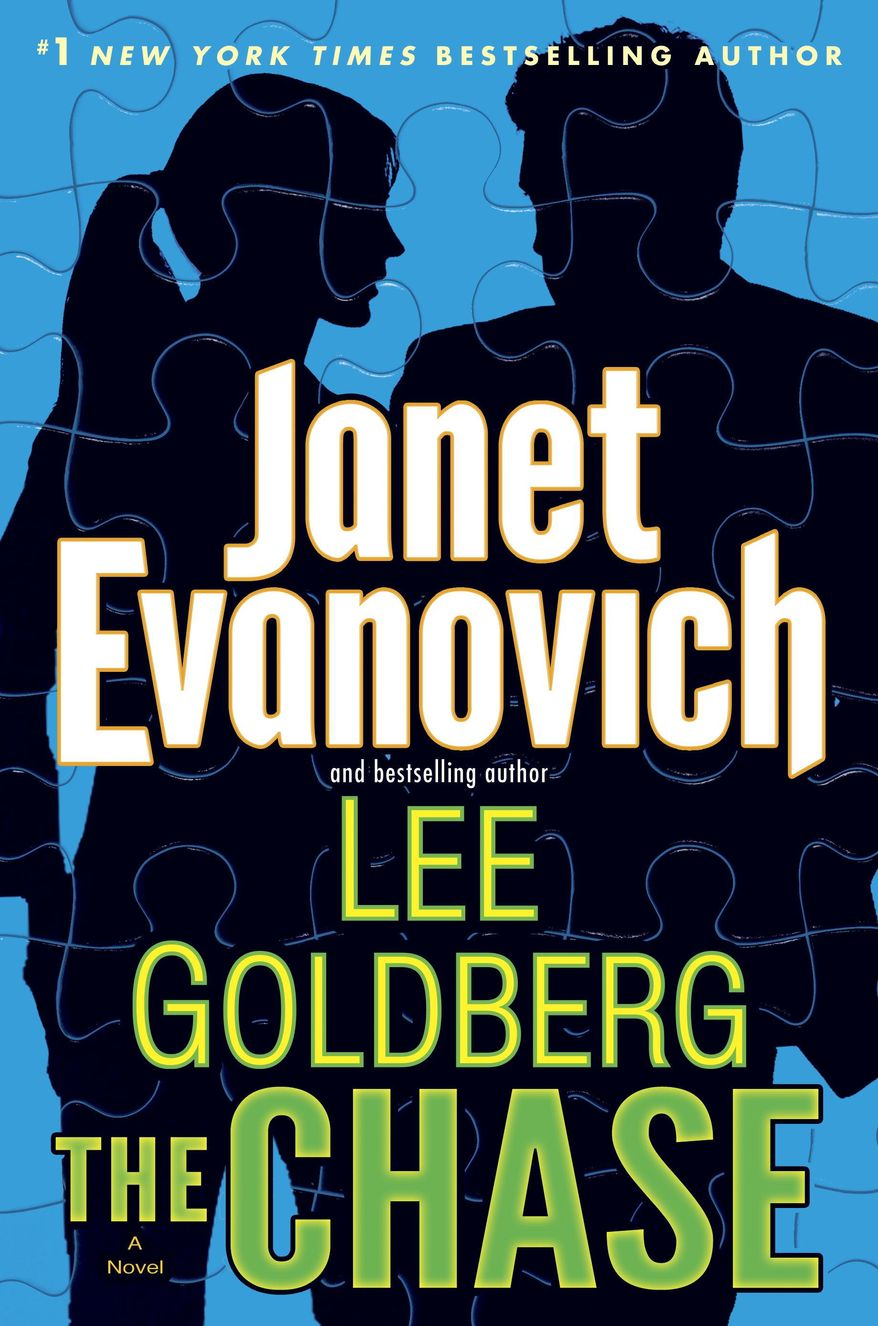"This cover image released by Bantam shows ""The Chase,"" by Janet Evanovich and Lee Goldberg. (AP Photo/Bantam)"