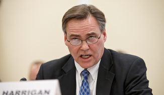 Thomas M. Harrigan, deputy administrator of the Drug Enforcement Administration, told the House Oversight Subcommittee on Government Operations on Tuesday that easing laws governing marijuana threatens U.S. institutions. (Associated Press)