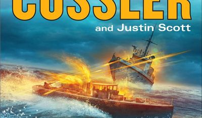 """This book cover image released by Putnam shows """"The Bootlegger,"""" by Clive Cussler and Justin Scott. (AP Photo/Putnam)"""