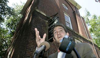 **FILE** Virginia state Sen. Chap Petersen, Fairfax Democrat (Associated Press)