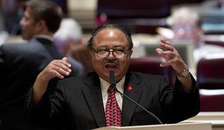 **FILE** Alabama Rep. Alvin Holmes, Montgomery Democrat (Associated Press)