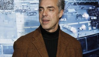 "FILE - In this Jan. 23, 2012 file photo, cast member Titus Welliver arrives at the premiere of ""Man on a Ledge"" in Los Angeles. ""Bosch,"" starring Welliver, and based on Michael Connelly's novels about Los Angeles police Detective Harry Bosch, is one of two dramas being auditioned by Amazon for a full run. The pair has been available to viewers on Amazon for a month-long window that ends Sunday, March 9, 2014, with a decision by the online giant likely by the end of March, said Roy Price, director of Amazon Studios. (AP Photo/Matt Sayles, file)"